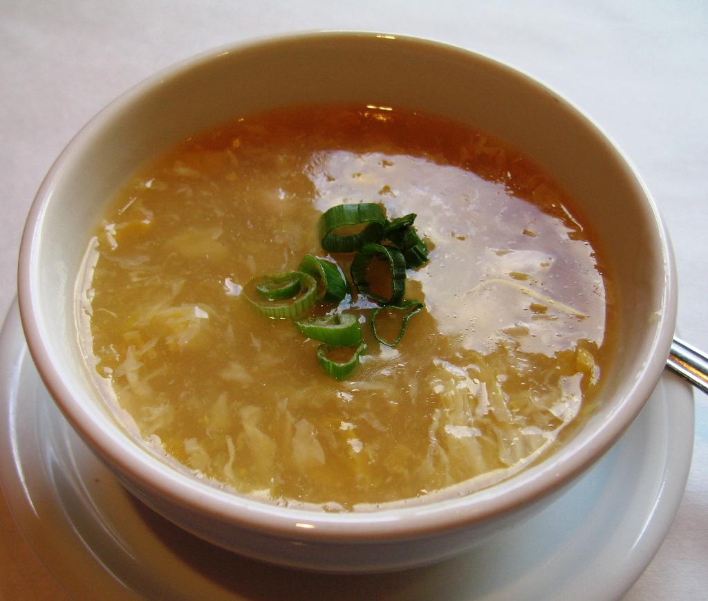 Hot and Sour Soup House Wonton Soup Egg drop soup